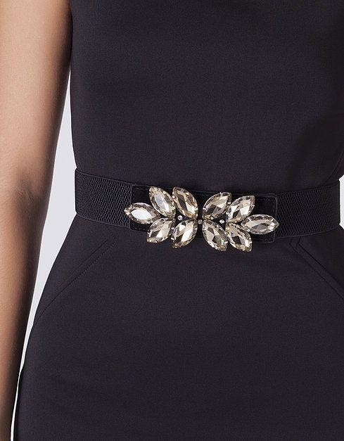 Cinturón elástico joya | suiteblanco
