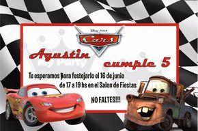 Invitaciones Cumpleaños Cars Para Fondo De Pantalla En 4K 7 HD Wallpapers