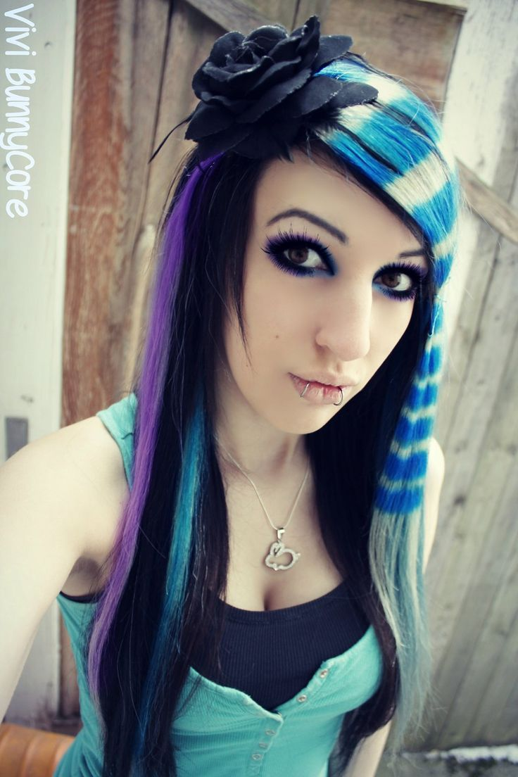 12 Best Hair Styles Boygirl Images On Pinterest Colourful Hair