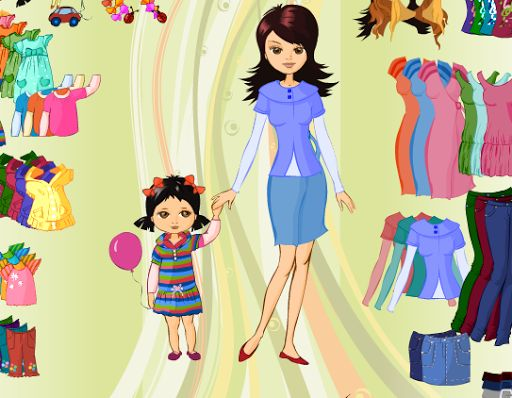 Summer style dress up games