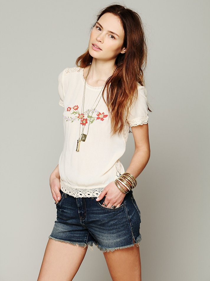 Free People Eye For Detail Top