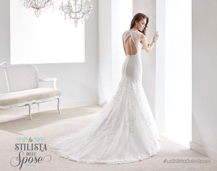 Episodio 3 - Aleandra, amore e purezza! Wedding Jolies dress 2016 collection. http://nicolespose.it/it/abito-da-sposa-Jolies--JOAB16516-2016 #Nicole #Jolies #collection #nicolespose #alessandrarinaudo #wedding #flower #flowers #abitidasposa #bianco #white #weddingdress #sposa #bride #brides #bridal #LaStilistaDelleSpose #realtime #back #nude