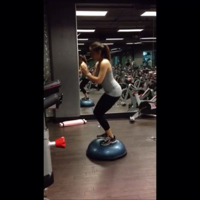 Bosu Ball One Leg Squat: 70 Best Workout To Be The Best You There Is Images On