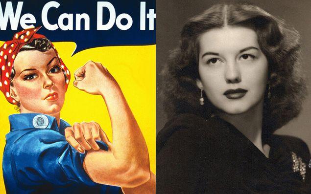 Rosie la Remachadora (J. Howard Miller 1943) : la verdadera historia que esconde el icono del feminismo. Ver en la Wiki también: https://es.wikipedia.org/wiki/Rosie_the_Riveter