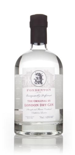 A super creamy gin from Foxdenton Estate, this is made with organic botanicals.