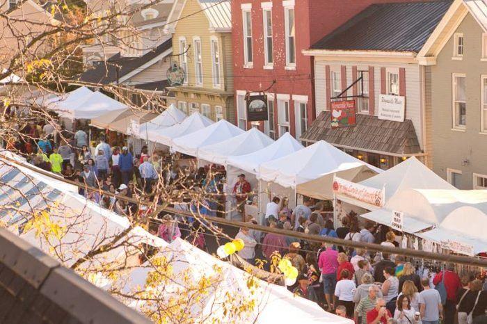8. Ohio Sauerkraut Festival (Waynesville)