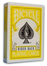 Bicycle Deck - Yellow