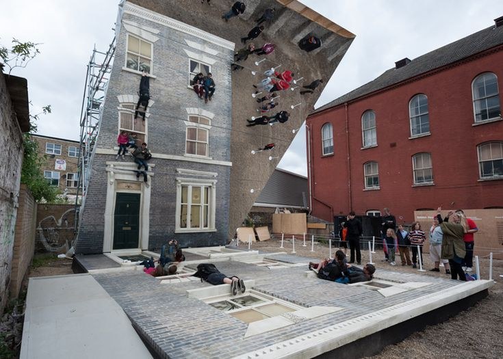 Dalston House by Leandro Erlich