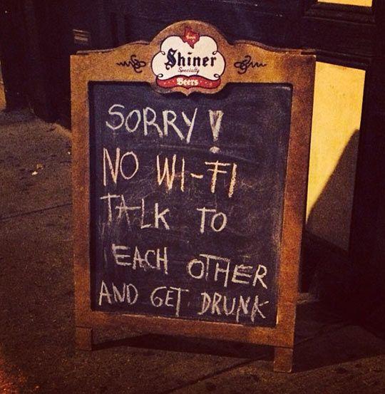 日本は、無料Wifiがあまりない。ロンドンは、携帯を置いて人間と話せよ!このくそ野郎!!  (via http://attrip.jp/137133/ )