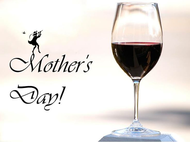 All Moms receive 10% discount on any wine purchases on Sunday! A Mother's Day gift to you!