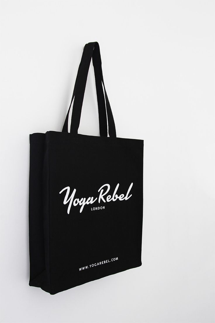 Yoga Rebel Deluxe Fairtrade Canvas Bag
