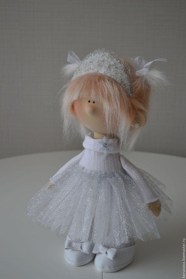 Купить Снежинка - белый, серебристый, сережки, блестящий, блестки, снежинка, Новый Год, новогодний подарок