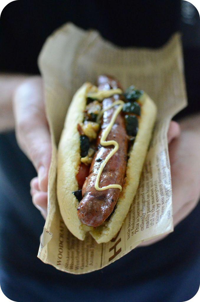 Hot-dog Merguez à la Marocaine et Pain au Maïs