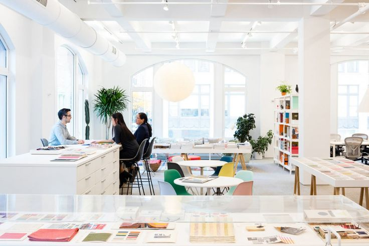 Herman Miller's new flagship store in nyc