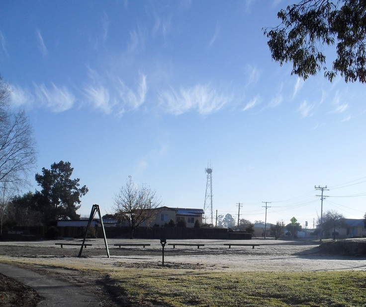 Frosty skies over Stanthorpe