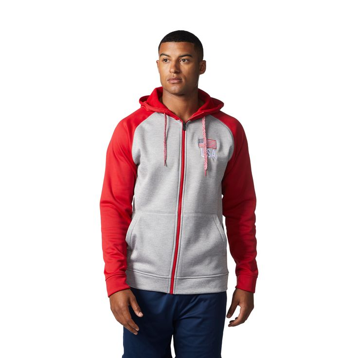 USA Volleyball Men's Full Zip Hoodie | USA Volleyball Shop