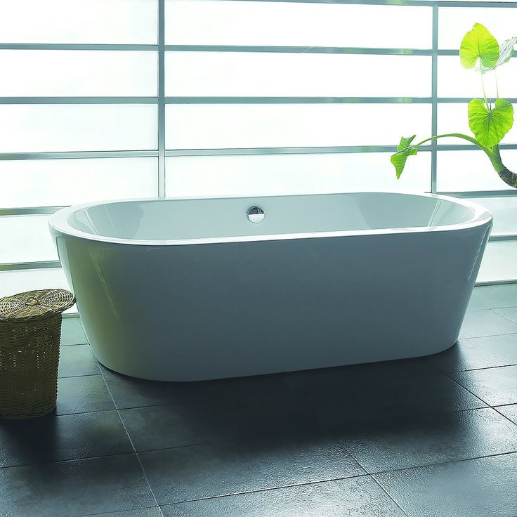 Best Freestanding Bathtubs Images On Pinterest Bathroom - Free standing jetted soaking tub