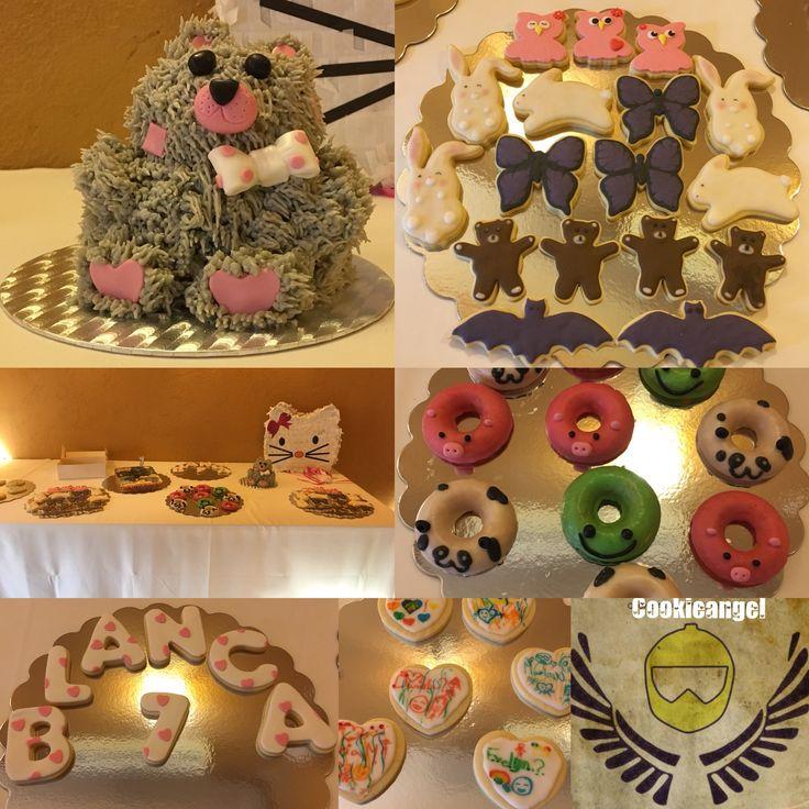 Ayer celebramos el cumple de la reina de la casa #partyanimal #lactosefree #birthdaycelebration #cake#cookies#dognouts