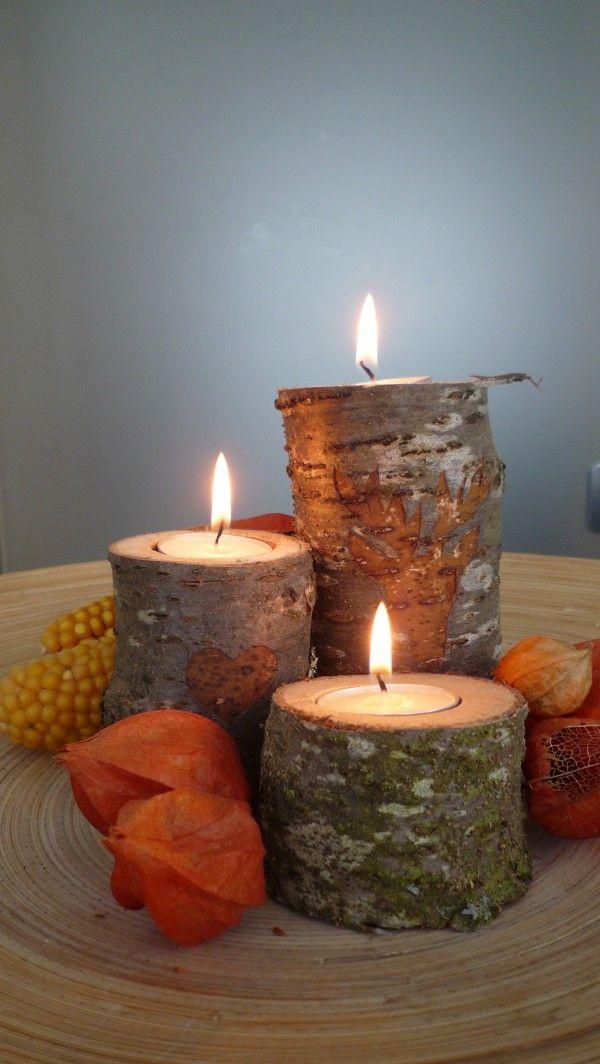 DIY: Einen Kerzenständer aus Altholz bauen - Handmade Kultur