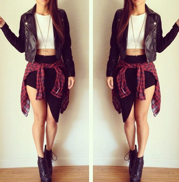 442 Best Edgy Cute Sexy Outfits Images On Pinterest