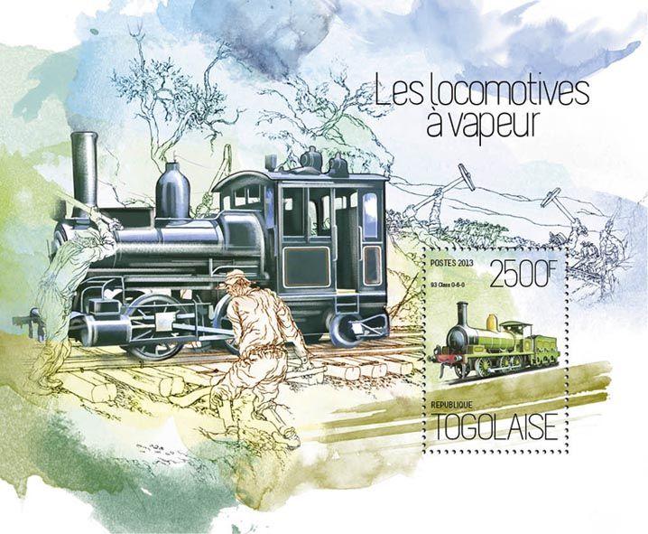 TG 13820 b – Steam locomotives, (93 Class 0-6-0).