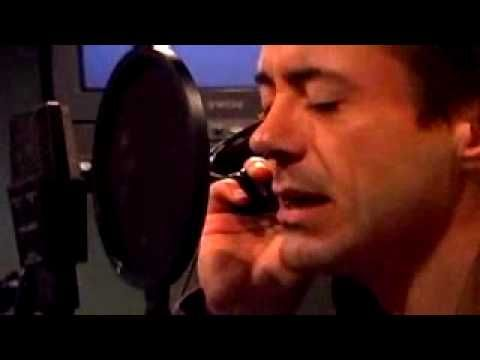 Robert Downey jr. singing Man like me