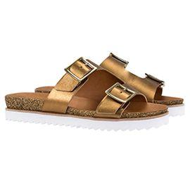 Sandália birken é uma super trend do verão! #temqueter