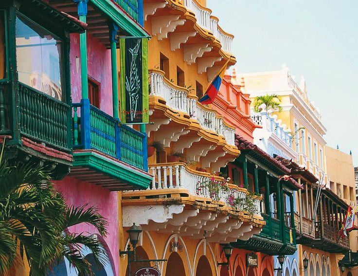Cartagena. Worth going to see this amazing vibrant city!