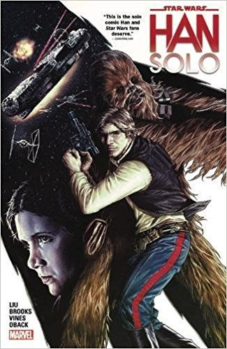 Star Wars: Han Solo: Amazon.co.uk: Marjorie Liu, Mark Brooks: 9780785193210: Books