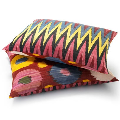 Yastik by Rifat Ozbek Ikat Cushions, from Couture Lab
