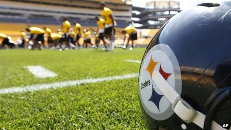 Pittsburgh Steelers possibly playing a game in Ireland. No... just no