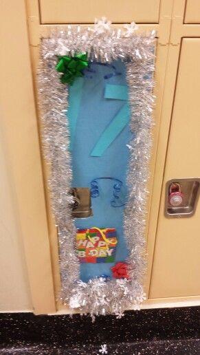 birthday locker decoration try it pinterest locker