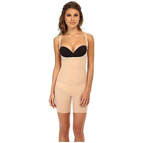 (スパンク) Spanx レディース インナー アンダーウェア Shape My Day Open Bust Mid-Thigh Bodysuit 並行輸入品  新品【取り寄せ商品のため、お届けまでに2週間前後かかります。】 カラー:Natural 商品番号:sh2-8538981-19