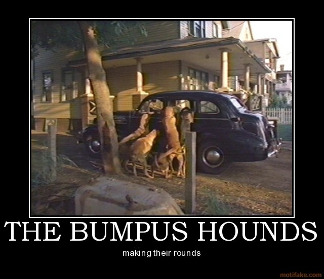Christmas Story Bumpus Hounds Quote