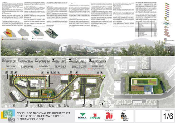 Sede da FATMAFAPESC – 3º Lugar – Prancha 01 | concursosdeprojeto.org