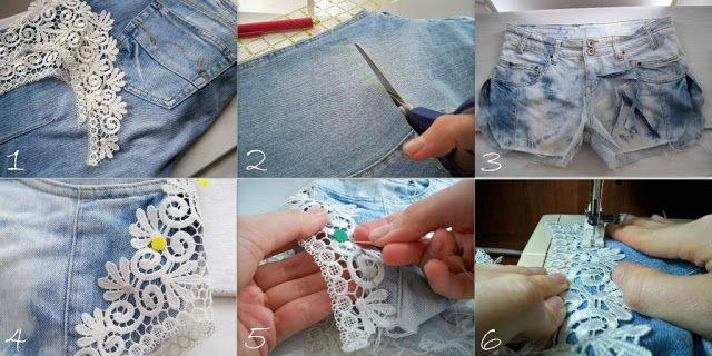 como cortar un jean y hacerlo short - Buscar con Google