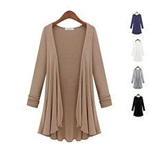 Buy LUX DRAPES Classic Cardigans In 5 Colors by Vista Shops on OpenSky