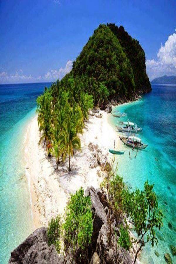 One of the Isla De Gigantes Islands, Philippines