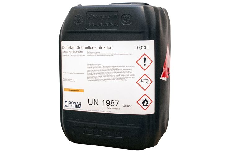 Schnelldesinfektion Donsan 10 L In 2020