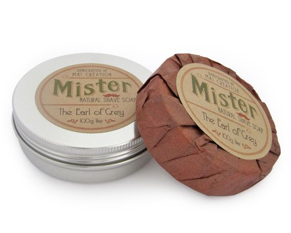 THE EARL OF GREY SHAVE SOAP $15