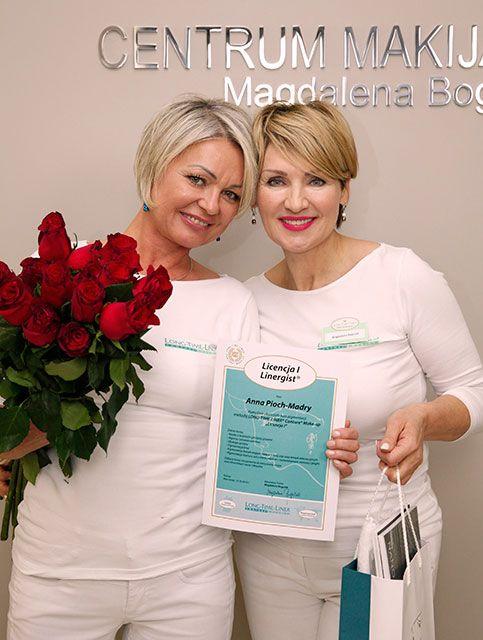 Anna Pioch-Madry, Szkolenie Long-Time-Liner, kurs makijażu permanentnego, Licencja I, październik 2016