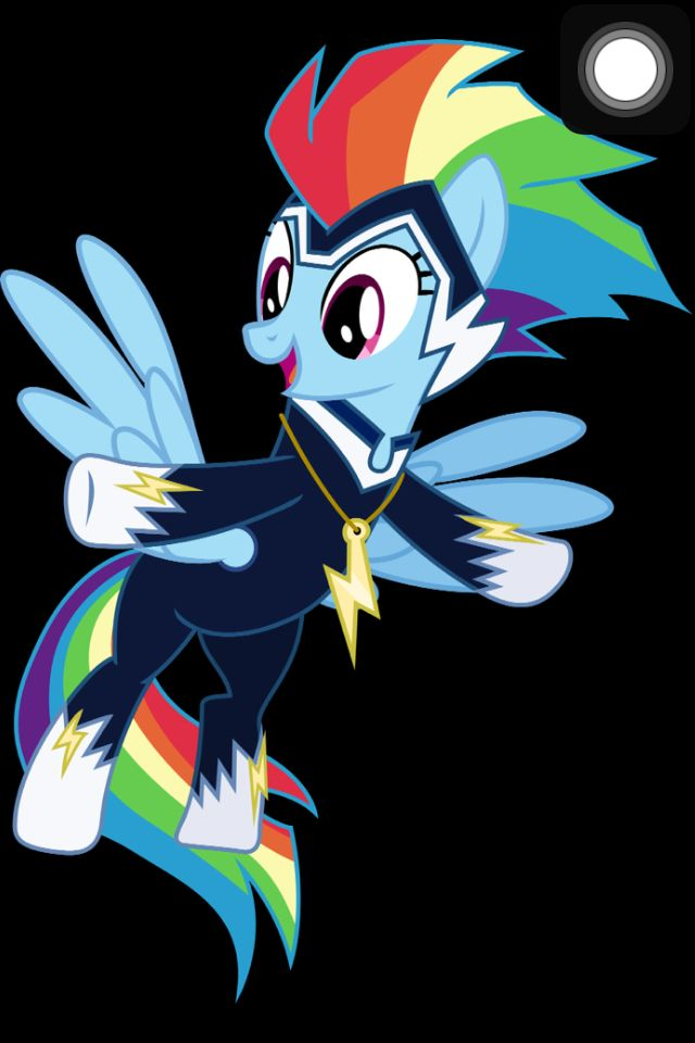 Rainbow Dash/ Zapp- in Power Ponies, if I could choose Rainbow Dash's power I'd make her the have the Human Torch's power (from Fantastic Four) based on their personalities and because she can already control the weather