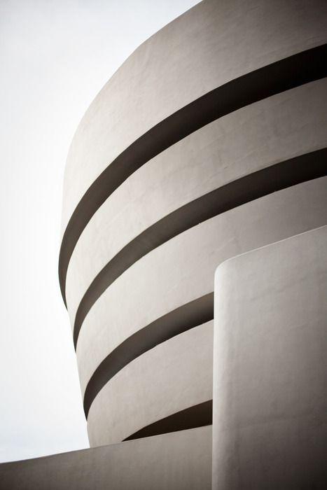 Solomon R. Guggenheim Museum, New York, New York.1959. Frank Lloyd Wright