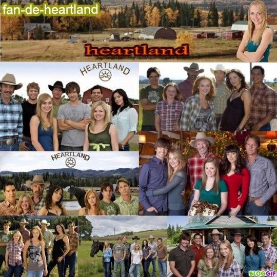 Heartland i love this show its kinda funny dad calls it my western soap opera