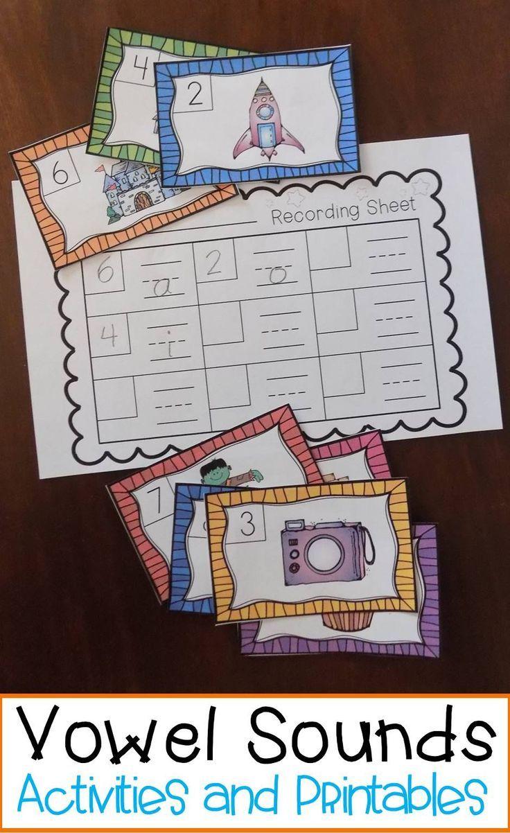 Kindergarten Long and Short Vowel Activities