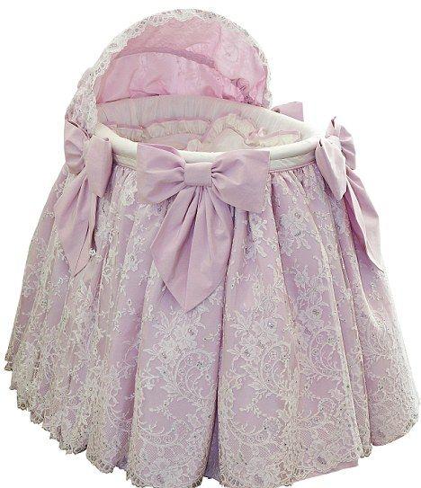 Baby princess bassinet