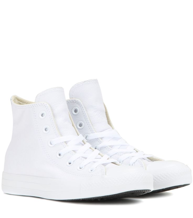 mytheresa.com - Chuck Taylor All Star High Sneakers Aus Leder ☼ Converse ∇ mytheresa.com - Luxury Fashion for Women / Designer clothing, shoes, bags