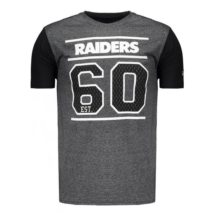 Camiseta New Era NFL Oakland Raiders Grafite Mescla Somente na FutFanatics você compra agora Camiseta New Era NFL Oakland Raiders Grafite Mescla por apenas R$ 99.90. Futebol Americano. Por apenas 99.90
