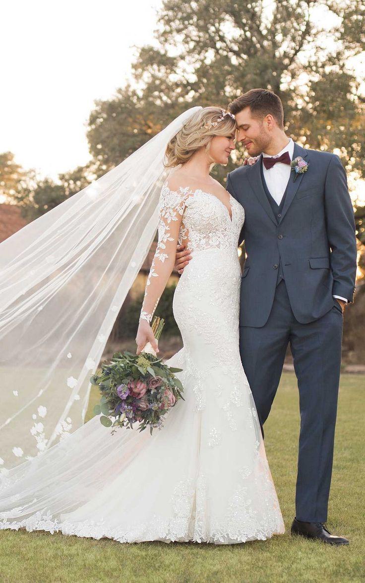35+ Amazing Mermaid Wedding Dresses Ideas to Make…