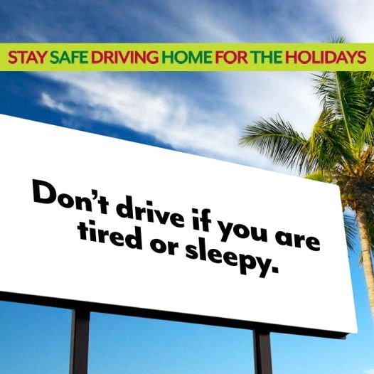 Drowsy Driving Safe TipsStay